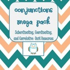 Conjunctions Mega Pack- Help w/Compound &amp; Complex Sentence