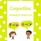 Conjunctions - Worksheets for Grade 2 & 3