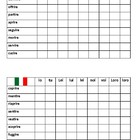 Connect 4 IRE verbs in Italian