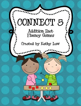 Connect 5 - Addition Fact Fluency 0-10