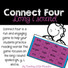 Connect Four Game with words with long i (ie, igh, y)