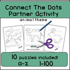 Connect The Dots while practicing Alphabet and Numbers!