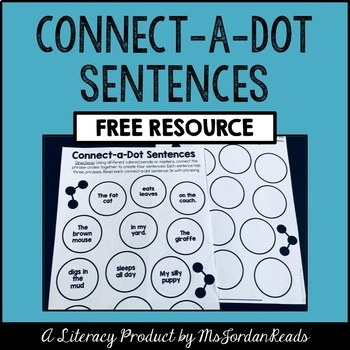 Connect-a-Dot Sentences (Phrasing & Sentence Structure)