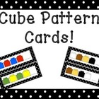 Connecting Cube Pattern Cards