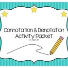 Connotation & Denotation Activity Set -- Create Team/Create Sigil