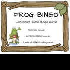 Consonant Blend Bingo Game
