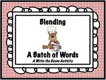 Consonant Blends - Blending a Batch of Words