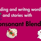 Consonant Blends Words and Stories Common Core Based printables