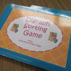 Consonant Digraph Sorting File Folder Game