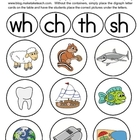 Consonant Digraph Sorting Pictures