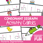 Digraph Write n Wipe Cards - Literacy Center Cards