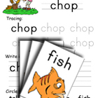 Consonant Digraph -sh 
