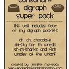Consonant Digraphs Super Pack of Games and Activities