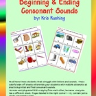 Consonant Sounds/ Beginning and Ending