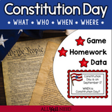 Constitution Day: A Wh- Question Game