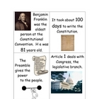 Constitution Day Go Fish card game