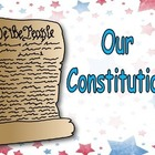 Constitution Day- Very EASY Shared Reading PowerPoint Kind