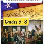 Constitution Day- We The People- Lesson Plan- Grades 4-8