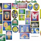 Construction Paper Craft Patterns