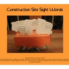 Construction Site Sight Words