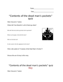 """""""Contents of a Dead Man's Pockets"""" by Jack Finney Quiz"""