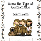 Context Clue Board Game Activity Center
