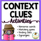 Context Clues Activities Packet