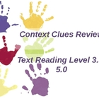 Context Clues Review/Practice