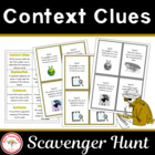 Context Clues Scavenger Hunt