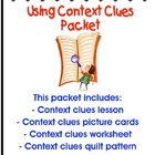 Context Clues Strategy Lesson Packet