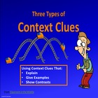 Context Clues, Three Types - PowerPoint