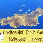 Continental Drift Smart Notebook Lesson