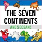 Continents {Anchor Charts, Cardinal Direction, Worksheets}