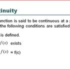 Continuity Defined