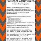 Contract Assignment {Novel Activities}