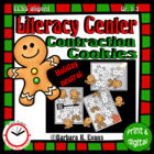 Contraction Cookies Literacy Center
