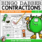 Contraction Dab {10 Super FUN Bingo Dabber Games to Practi