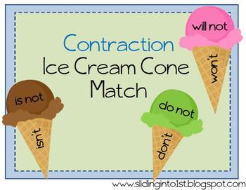 Contraction Ice Cream Match