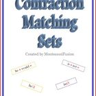 Contraction Matching Sets &amp; Recording Sheets