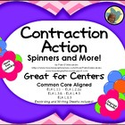 Contraction Spelling Common Core ELA-L.1.1, L.2.2c, L.3.6,