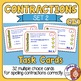 Contractions Cards (Set 2): 32 Multiple Choice Cards for S
