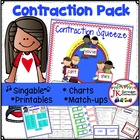 Contractions - Contraction Squeeze {Common Core Connections}
