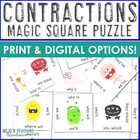 Contractions Magic Square for 3rd &amp; 4th
