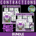 Contractions Mega Three Pack of Center Games By Fern Smith