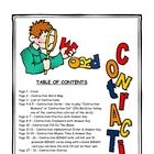 Contractions Printable Activities