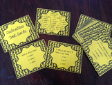 Contractions Task Cards set