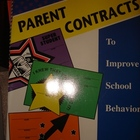 Contracts - Parent Contracts To Improve School Behavior