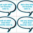 Conversation Cards for Autistic Students