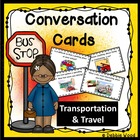 Conversation Fun Cards Transportation and Travel Life Skills