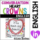 Conversation Heart Crowns for Valentine's Day